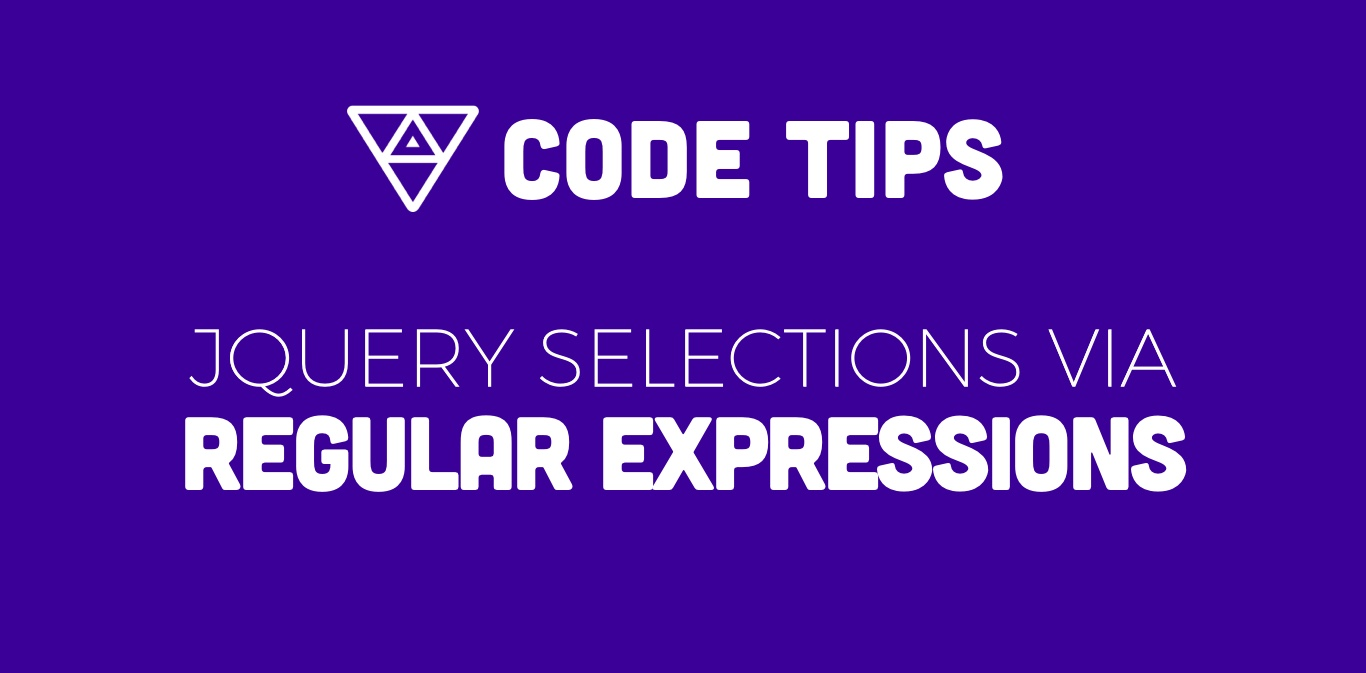 Jquery Selections via Regular Expression