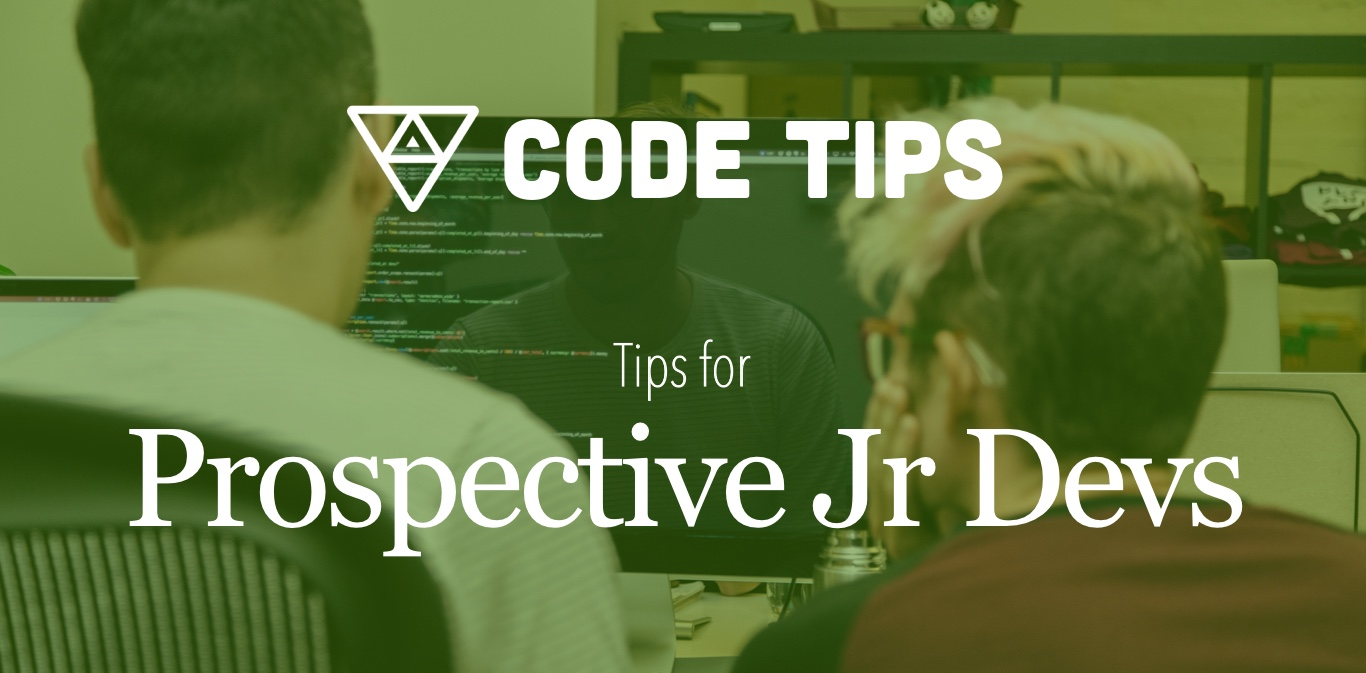 Tips for prospective junior developers