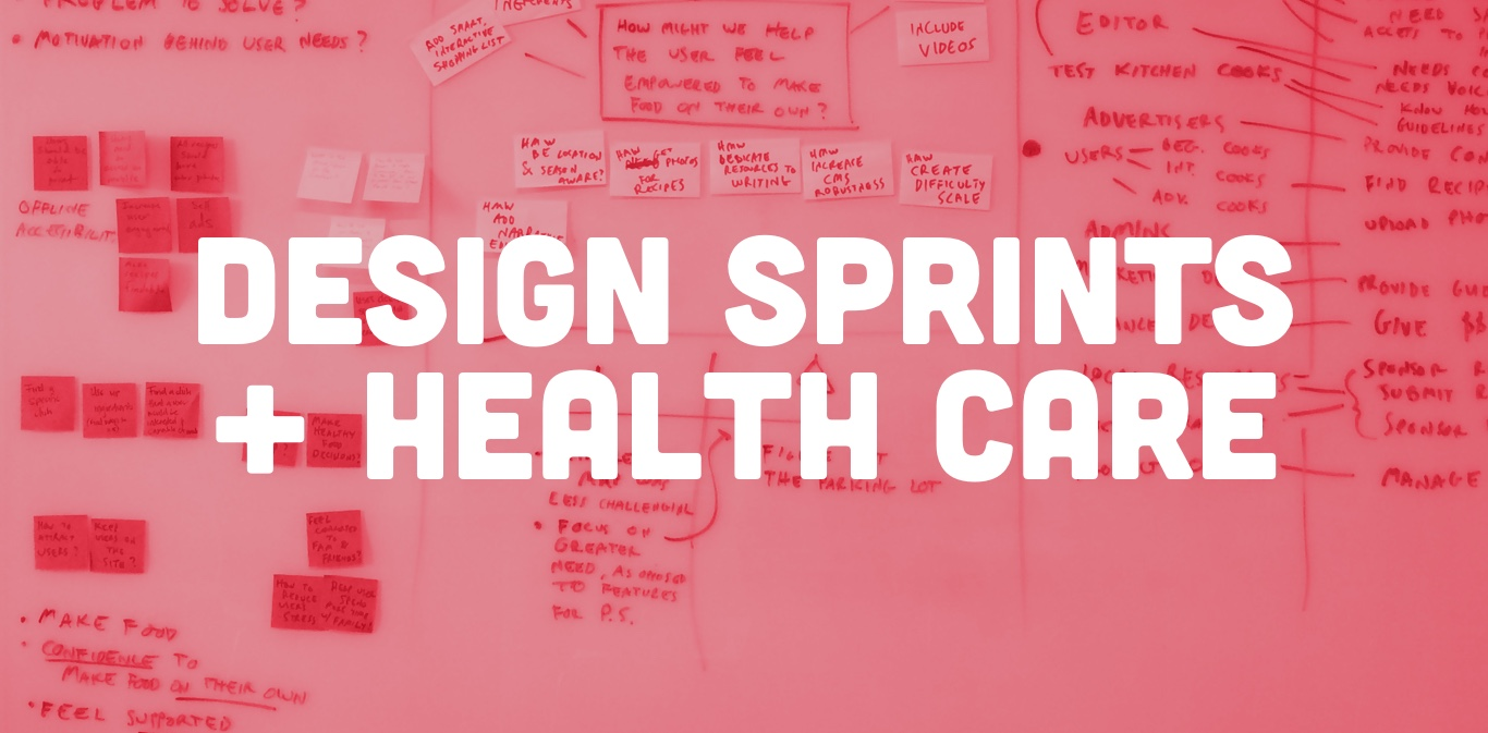 How A Design Sprint Could Help Your Health Care Application