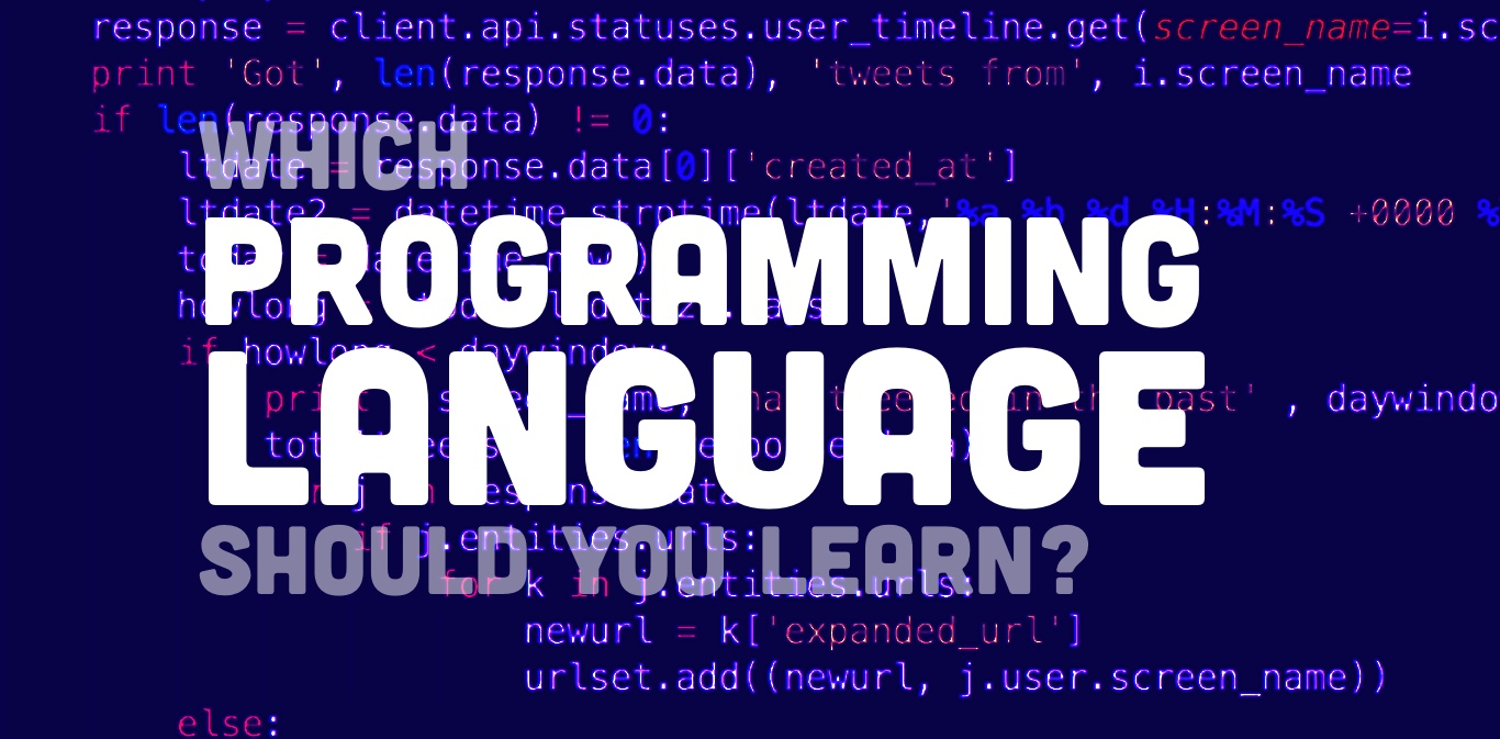 Junior Developer Tips – Which Programming Language Should I Start With?